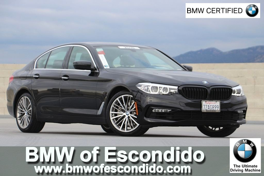 Bmw Certified Pre Owned >> Certified Pre Owned 2018 Bmw 5 Series 530i 4dr Car In Escondido