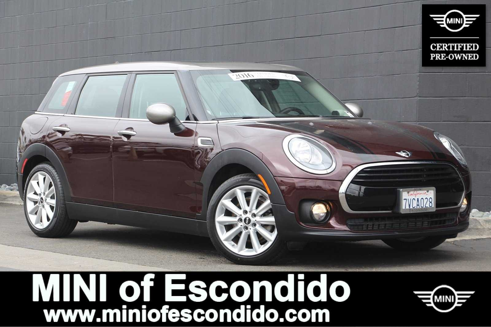Pre-Owned 2016 MINI Cooper Clubman CLUBMAN