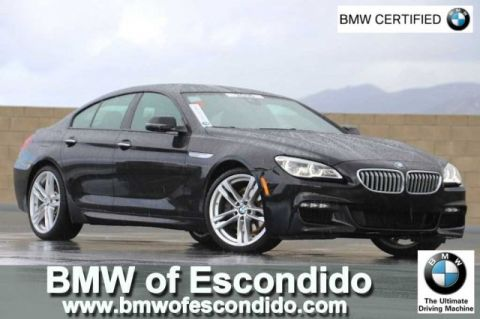 Certified Pre-Owned 2016 BMW 6 Series 650i