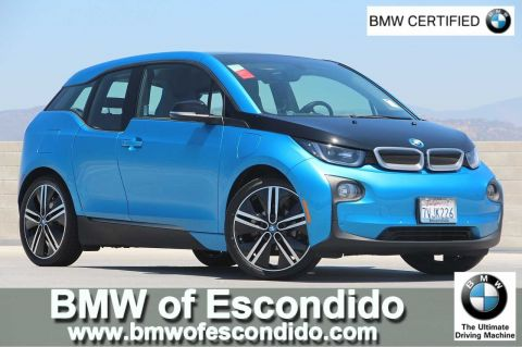 Certified Pre-Owned 2017 BMW i3 AH RNG EXT